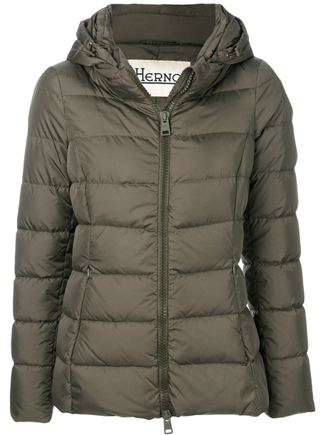 Herno jacket women green