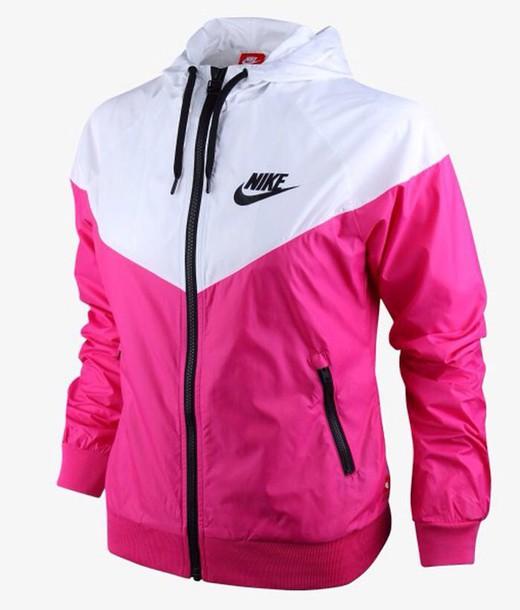 Red And White Nike Girl Windbreaker Boys Nike Sweatsuit  c81b088e4