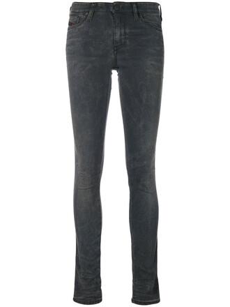 jeans skinny jeans women spandex cotton grey