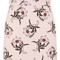 Daisy print mini skirt - pink