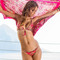 Sauvage swimwear - coral gypsy sarong