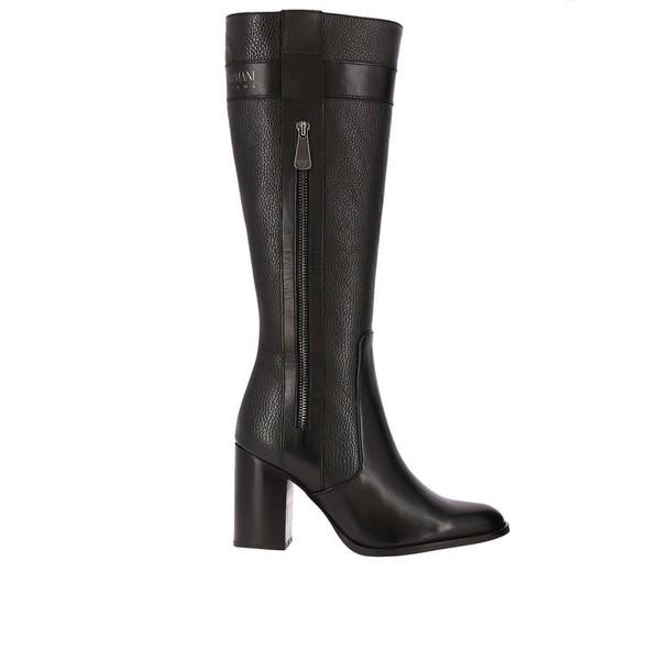 ARMANI JEANS boots shoes women shoes black