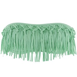 Dolly knotted fringe & emma two tone bottom bitsy fit