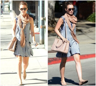 dress shoes bag sunglasses scarf lily collins