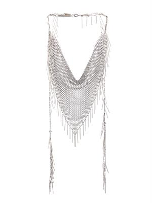 Linares fringed chain necklace