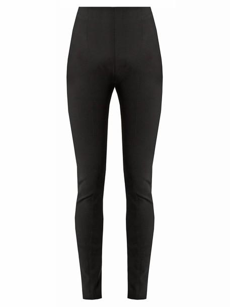 Balmain high black pants