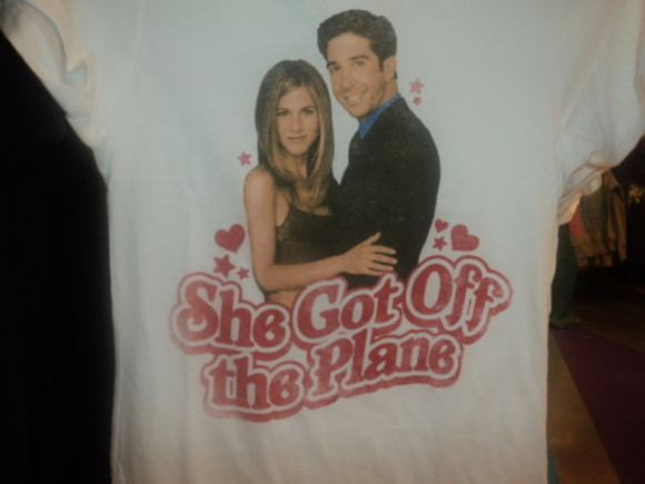 jennifer aniston friends rachel t-shirt tshirt cute ross ross and rachel ross geller sweet cheesy christmas present