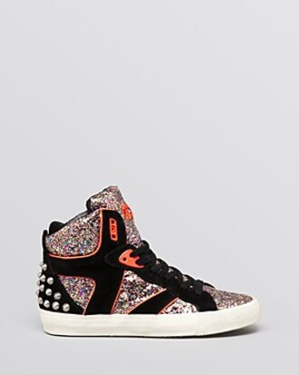 shoes sneakers high top sneakers shiny sneakers
