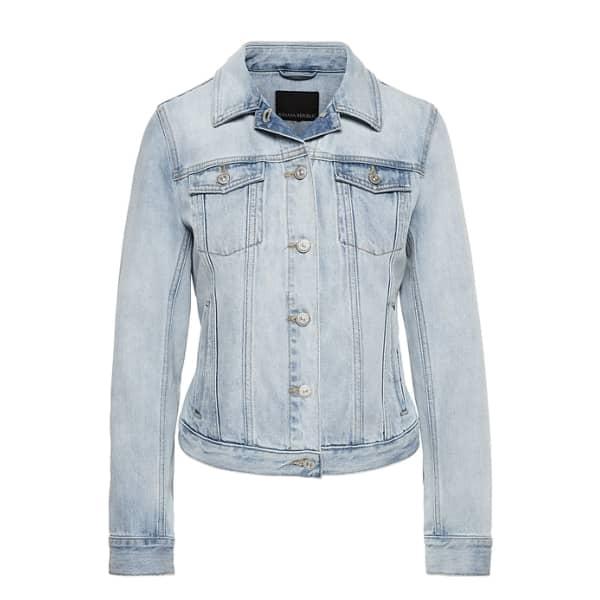 Banana Republic Women's Denim Trucker Jacket Light Wash Regular Size XL