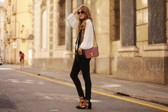 my daily style blogger jeans shoes bag jacket