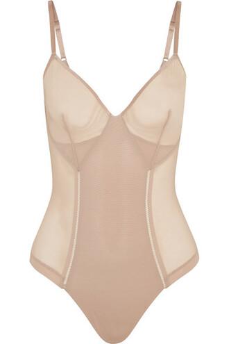 bodysuit mesh bodysuit mesh neutral underwear