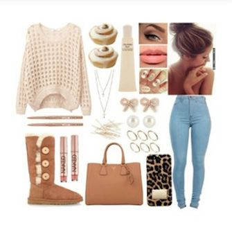 Brown Ugg Boots Outfit