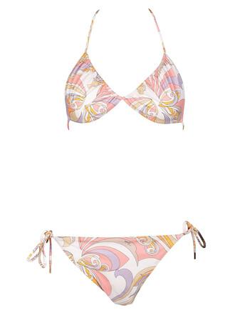 bikini triangle bikini triangle multicolor swimwear