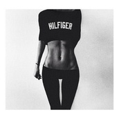 sweater,tommy hilfiger,jumper,black,pants,shirt,t-shirt,crop,top