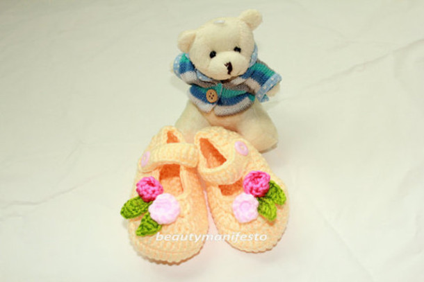 1b324f418c9eb shoes children baby booties baby accesories yellow baby girl shoes princess  baby shoes baptism crib shoes