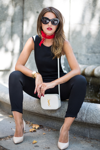 lovely pepa blogger jumpsuit top bag