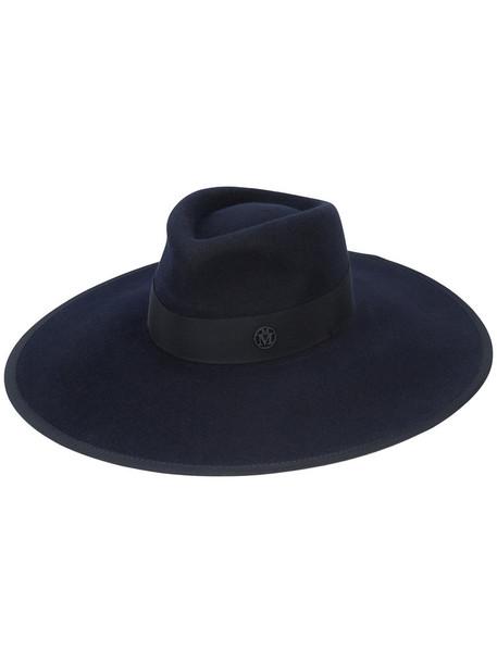 Maison Michel fur women hat blue
