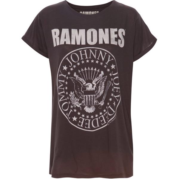 Pull & Bear Ramones Top - Pull&Bear - Polyvore
