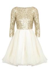 dress,gold&white,gold,short dress,pretty