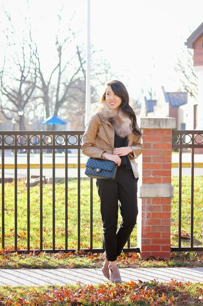 refined couture blogger jacket top pants shoes bag
