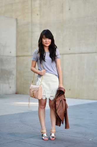 daily disguise shirt skirt jacket bag shoes