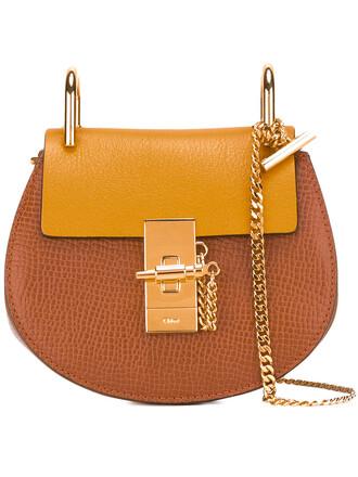 women bag crossbody bag leather suede brown