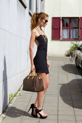 from brussels with love blogger louis vuitton bag sundress