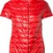 Herno - glossy quilted jacket - women - nylon - 48, red, nylon
