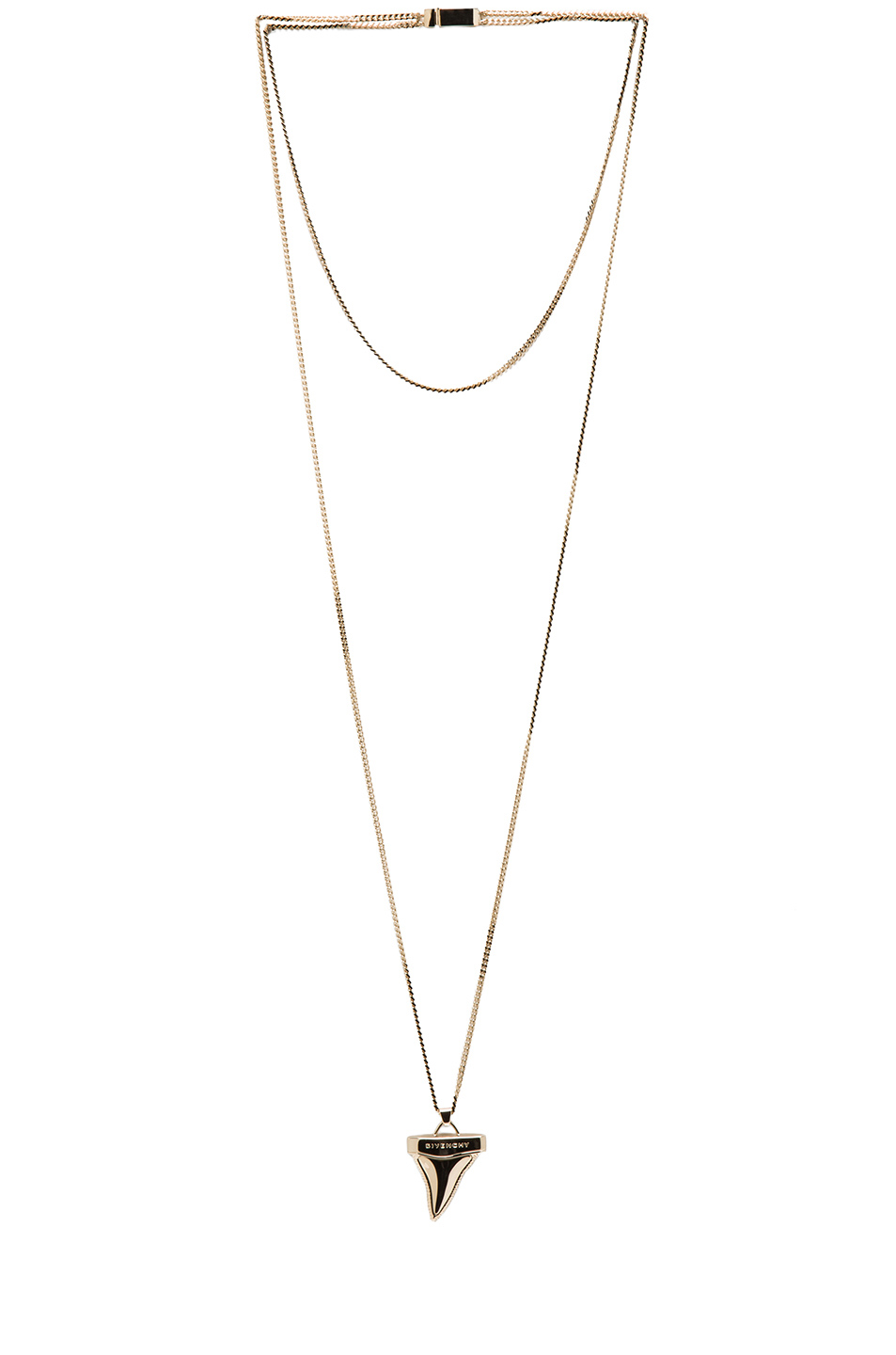 GIVENCHY|Shark Tooth Small Necklace in Gold