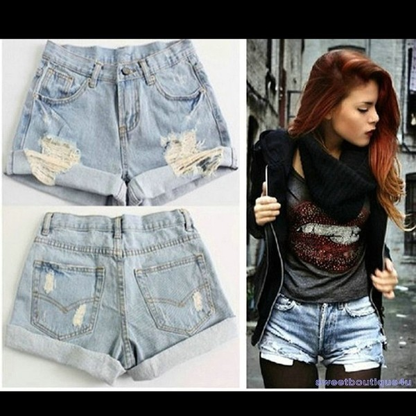 shorts hight waisted denim shorts