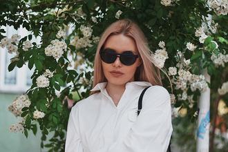 ag on i ya blogger black sunglasses