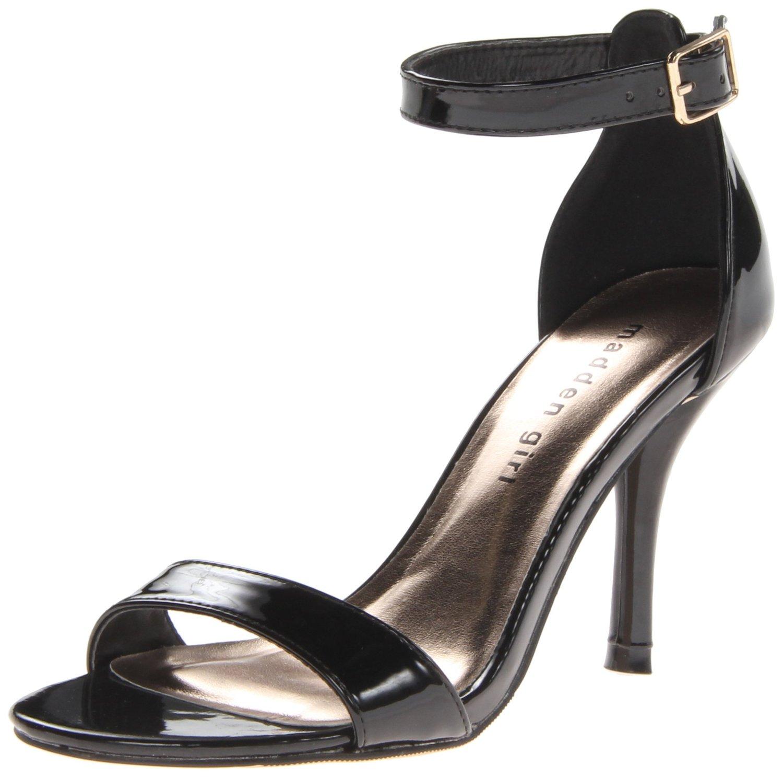 Black sandals on amazon - Amazon Com Madden Girl Women S Darrlin Dress Sandal Shoes