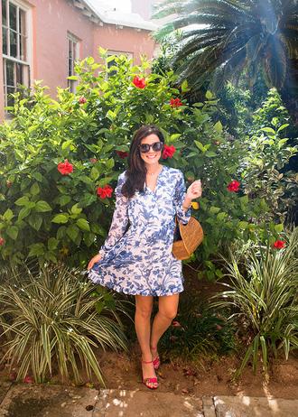 classy girls with pearls blogger dress shoes bag jewels sandals mini dress summer dress