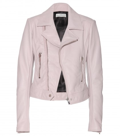mytheresa.com -  Leather biker jacket  - leather & fur - jackets - clothing - Luxury Fashion for Women / Designer clothing, shoes, bags