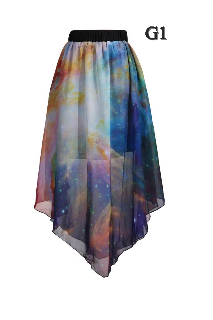 Galactic sheer skirt