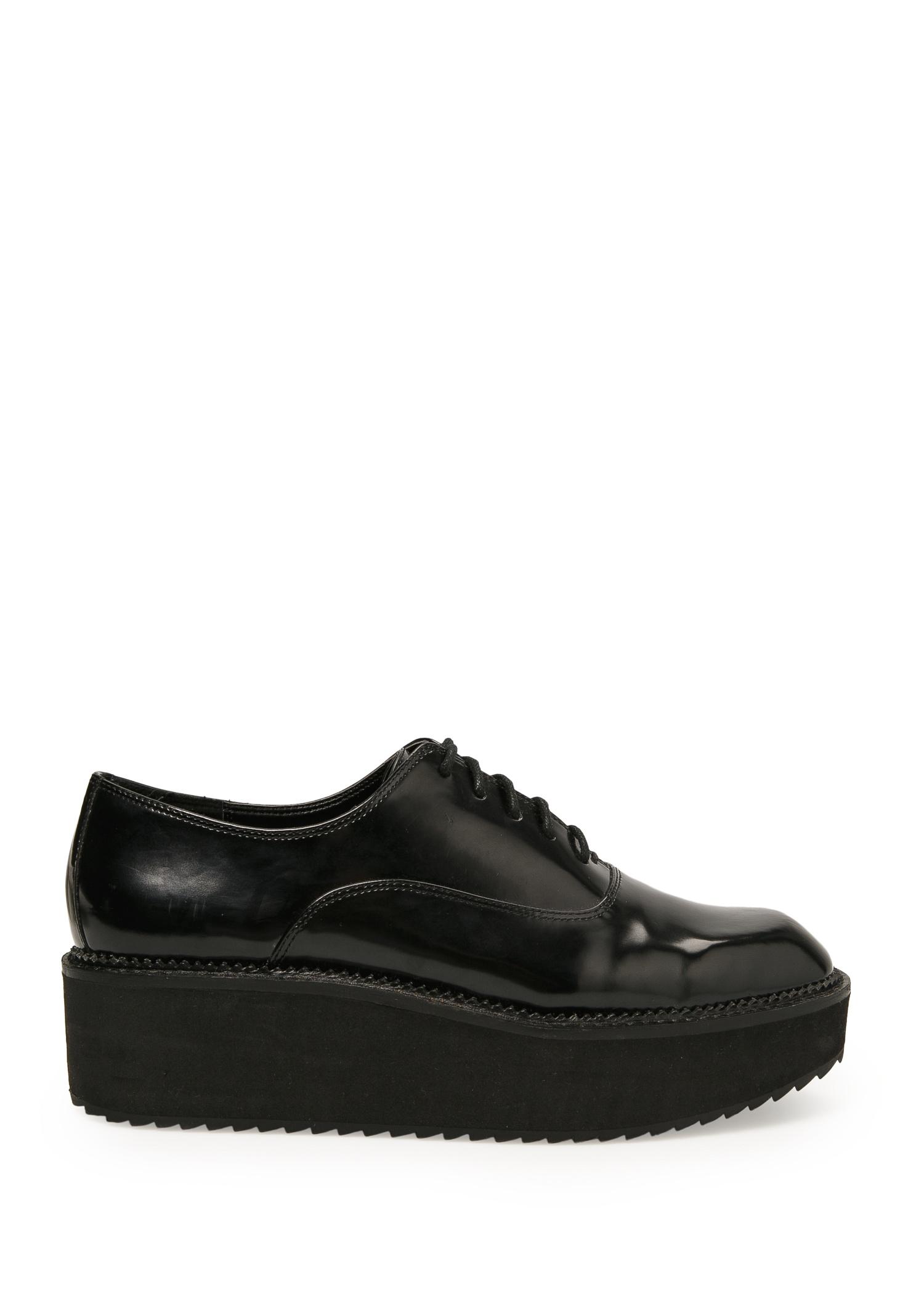 platform oxford shoes mango