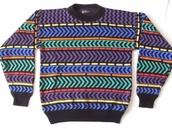 ugly sweater,90s style,90s grunge,colorful,indie,hipster,ugly,etsy,pattern,colorful pattern,soft grunge,grunge,pinterest,vintage,jumper