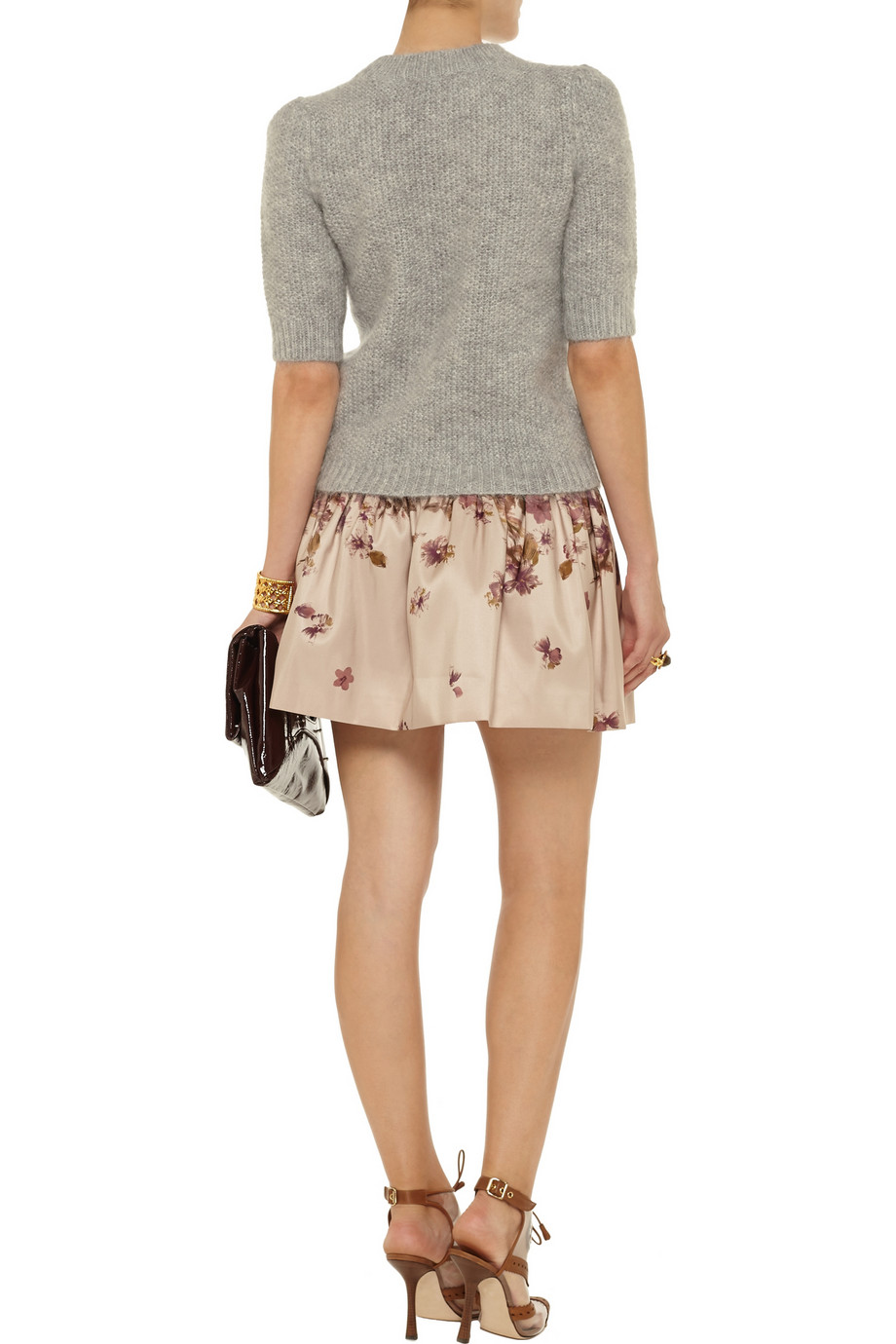 Temperley London Nadine mohair-blend sweater – 50% at THE OUTNET.COM