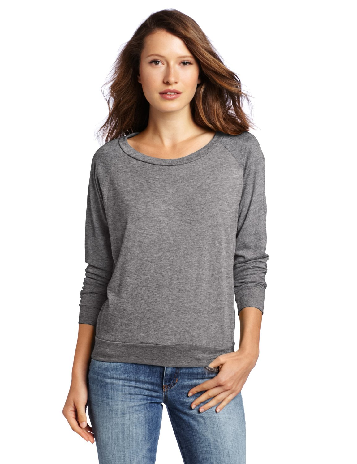 Amazon.com: Alternative Women's Slouchy Pullover: Clothing