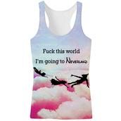 tank top,swag,yolo,neverland,alohafromdeer,mr gugu,beloved,clouds,galaxy print,nice,t-shirt,top