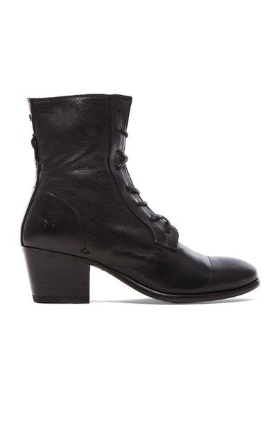 Frye boot lace black