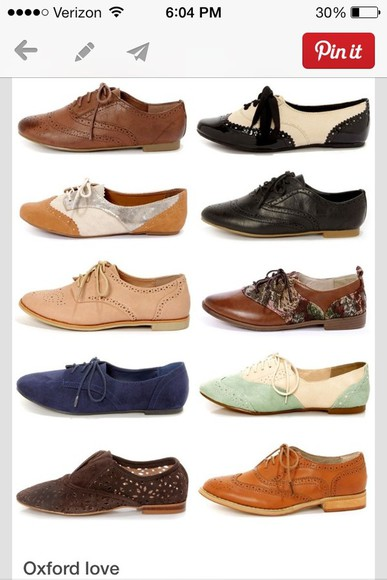 shoes oxfords