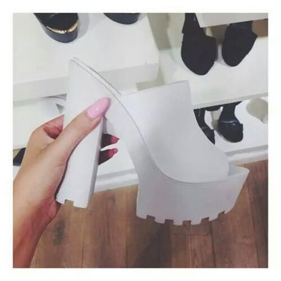 shoes high heels shoe chunky heels sandals sole