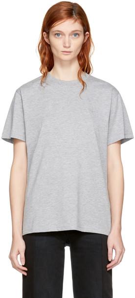 032c t-shirt shirt t-shirt grey top