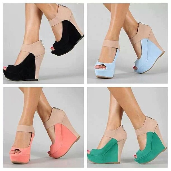 shoes wedges platform shoes heels