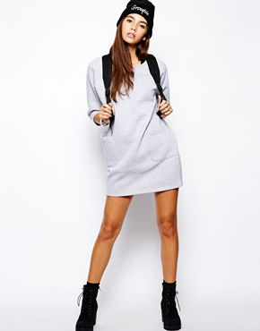 Daisy Street | Daisy Street Sweat Dress with Pockets at ASOS