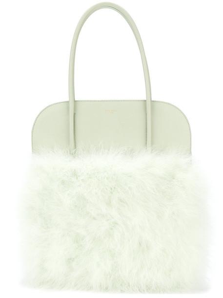NINA RICCI women fluffy green bag