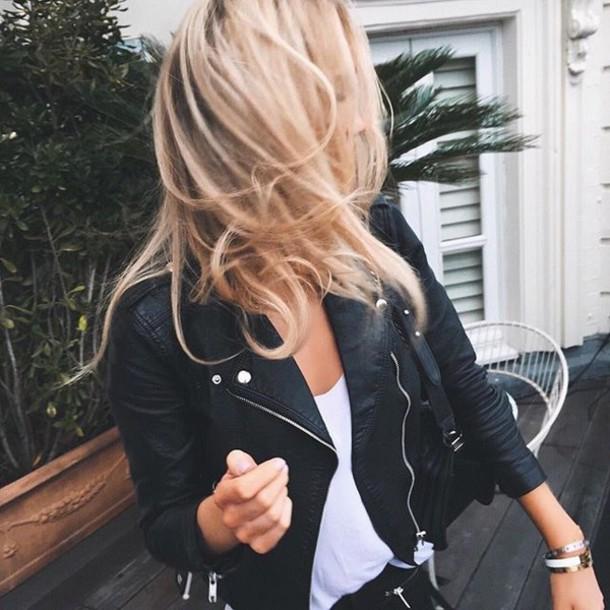 Leather jacket tumblr