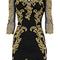 Karen millen dp276 black baroque mesh dress_karen millen_women's dresses_sinomio - karen millen dress & shoes & bag &sport goods & more at low prices