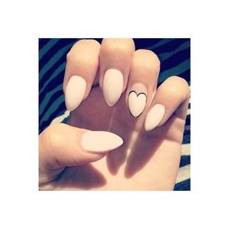 nail polish heart pink heart long nails stiletto nails pink nail polish stilettos almond nails valentines day pink nail polish light